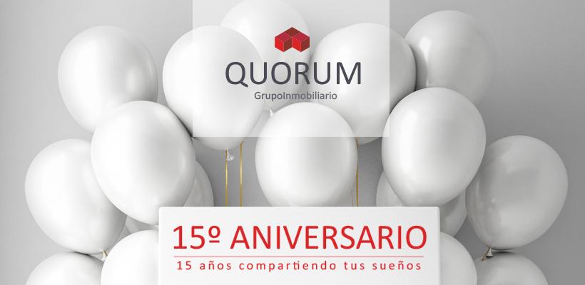 15 Aniversario QUORUM