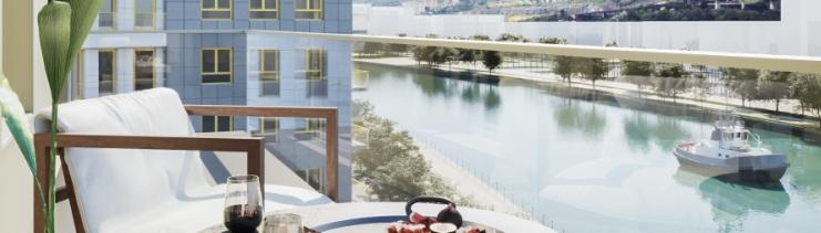 Zorrozaurre Residencial_espectaculares vistas Inmobiliaria Quorum