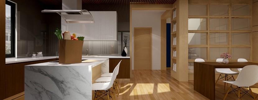 Infografía de cocina_Quorum inmobiliaria