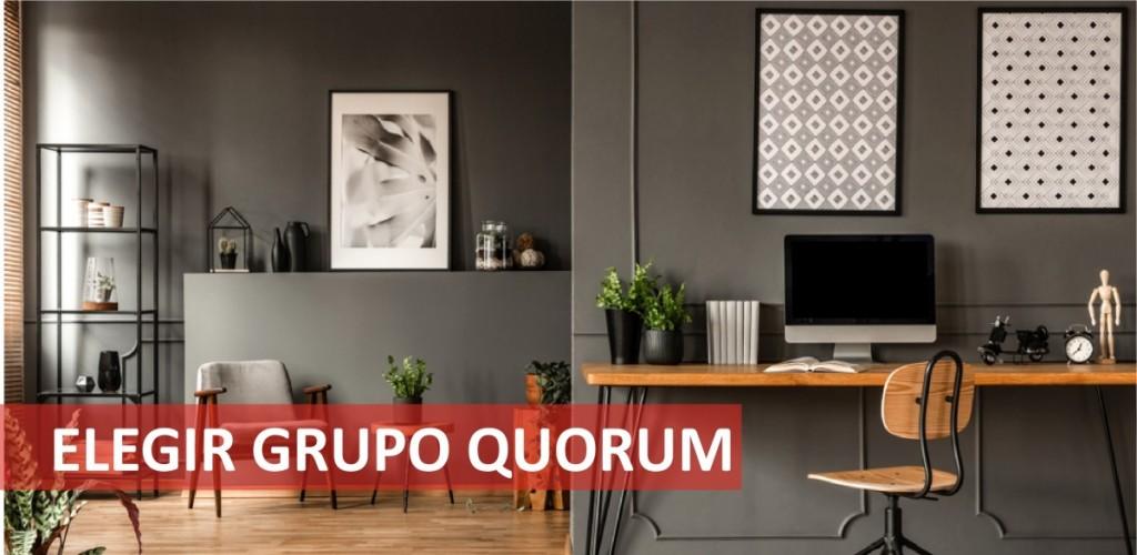 Elegir Grupo Quorum